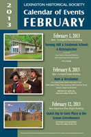 Poster for March 2013 events