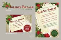 holiday event promotional materials
